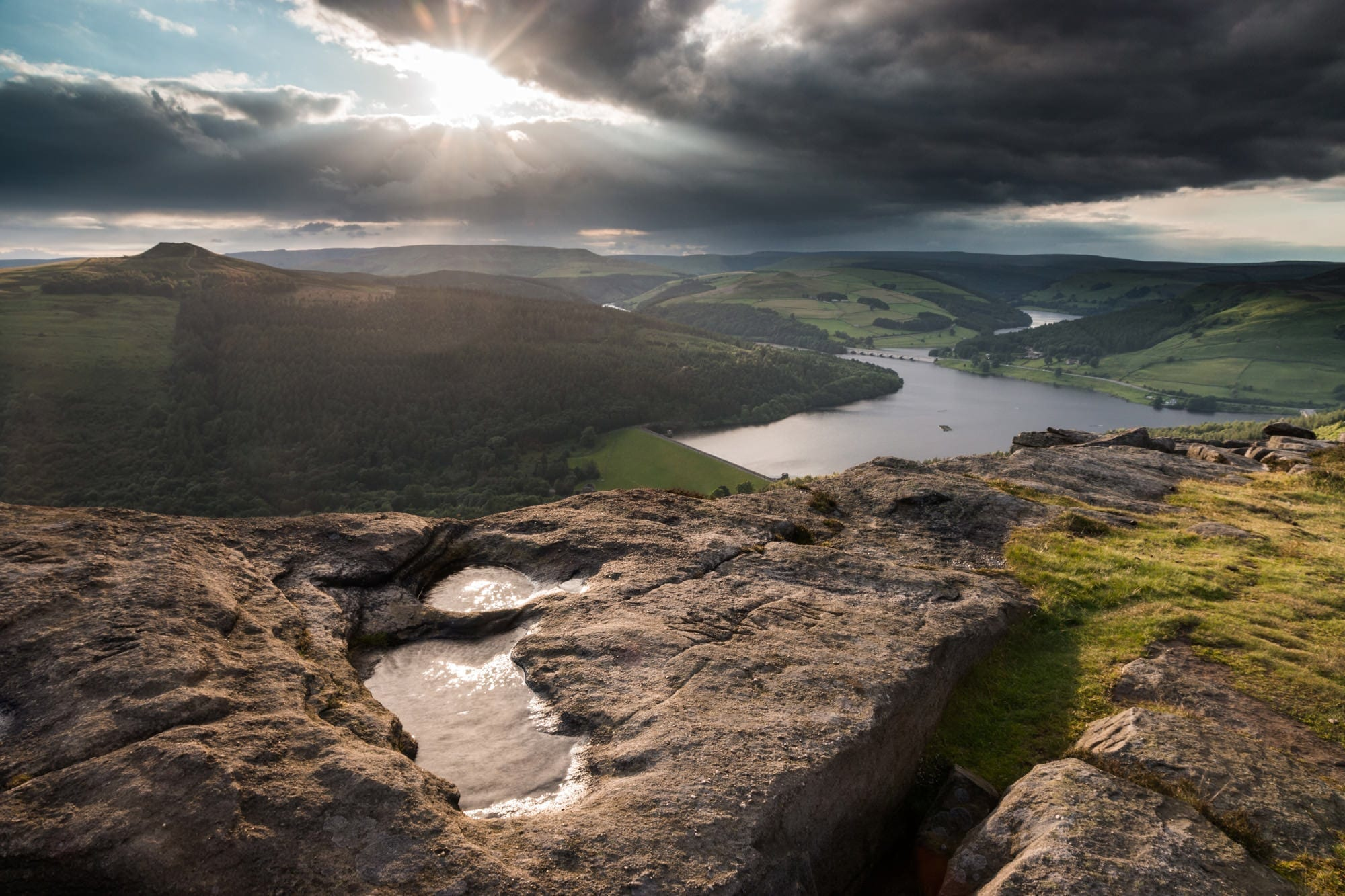 Bamford Edge Storms - Gritstone Edges Peak District Photography Workshop