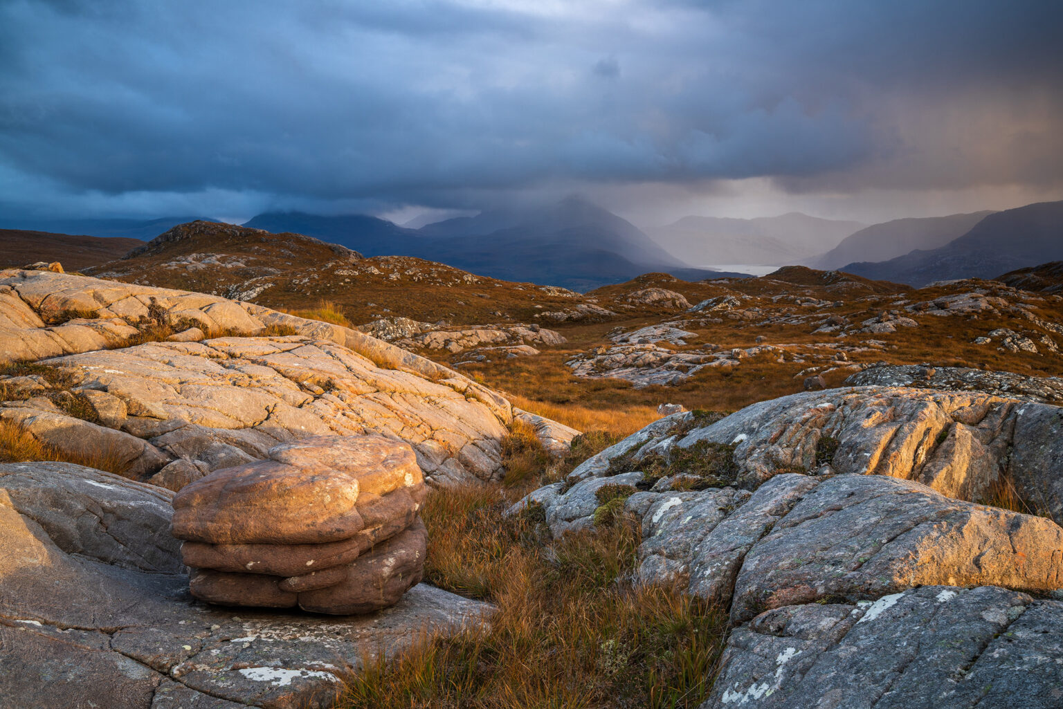 Bealach Na Goaithe Sunset – Scotland Landscape Photography