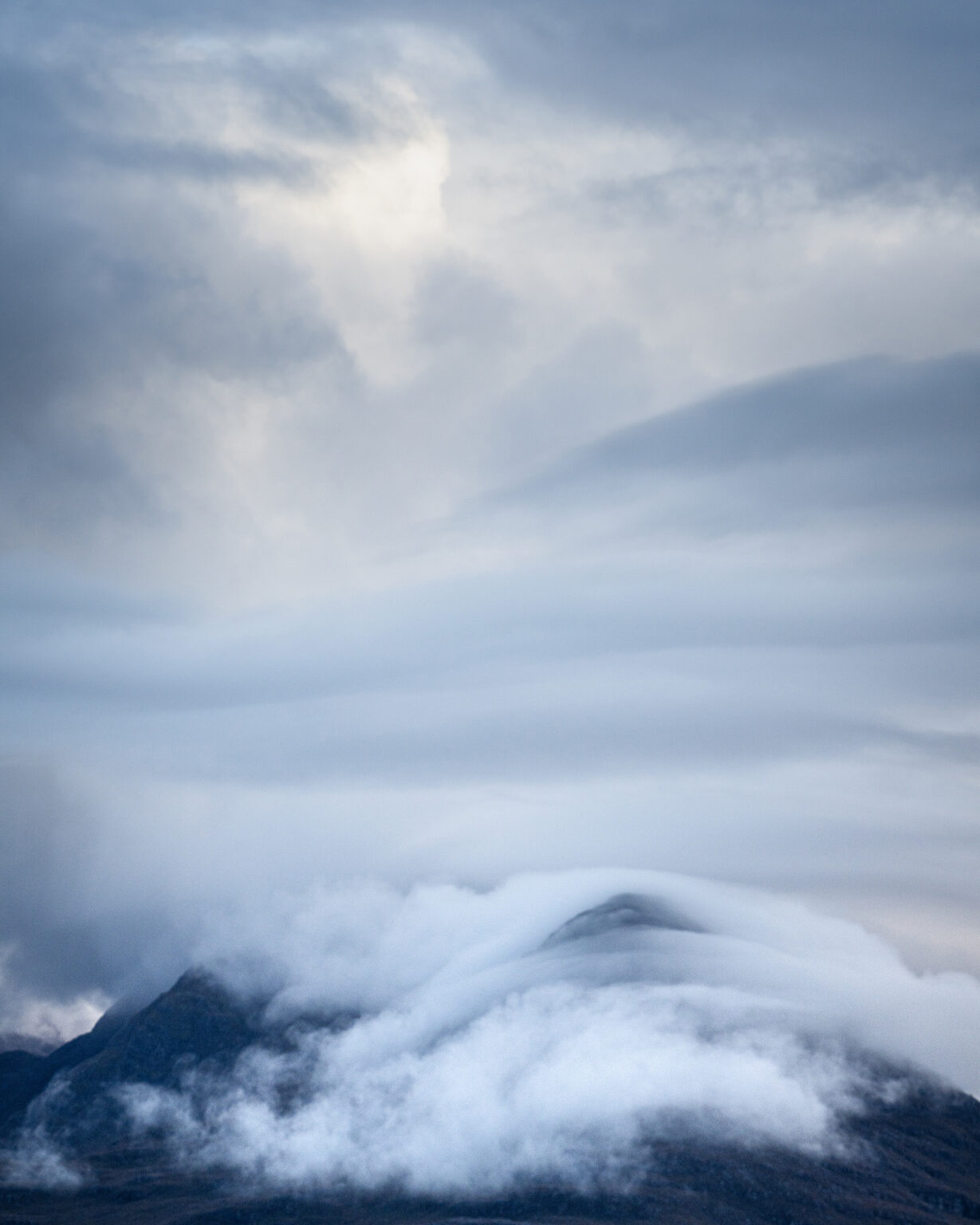 Beinn Damh Clouds – Scotland Landscape Photography