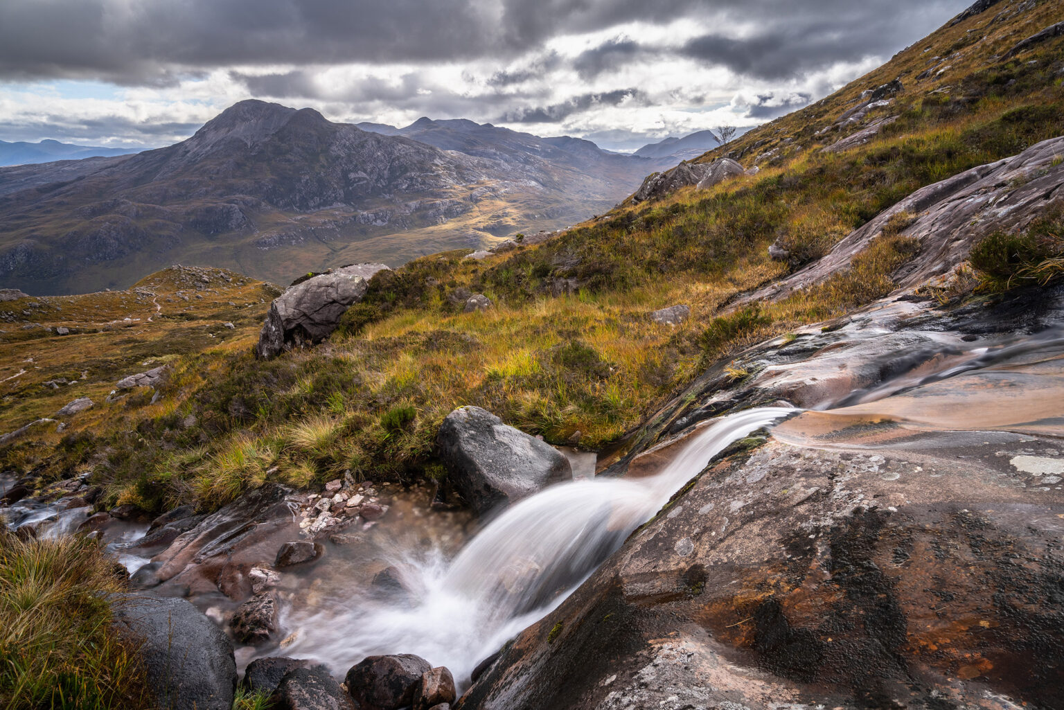 Beinn Eighe Waterfall – Scotland Landscape Photography