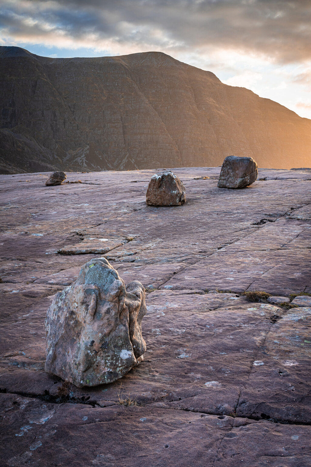 Beinn Na h-Eaglaise to Beinn Dampf –Torridon - Scotland Photography
