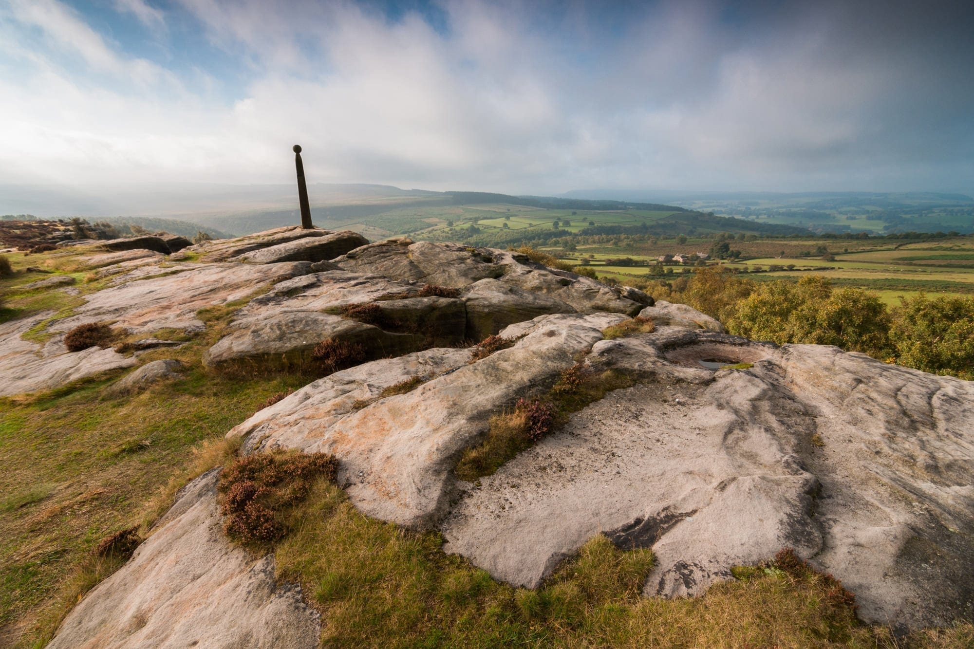 Birchen Edge Sunrise - Gritstone Edges Peak District Photography Workshop