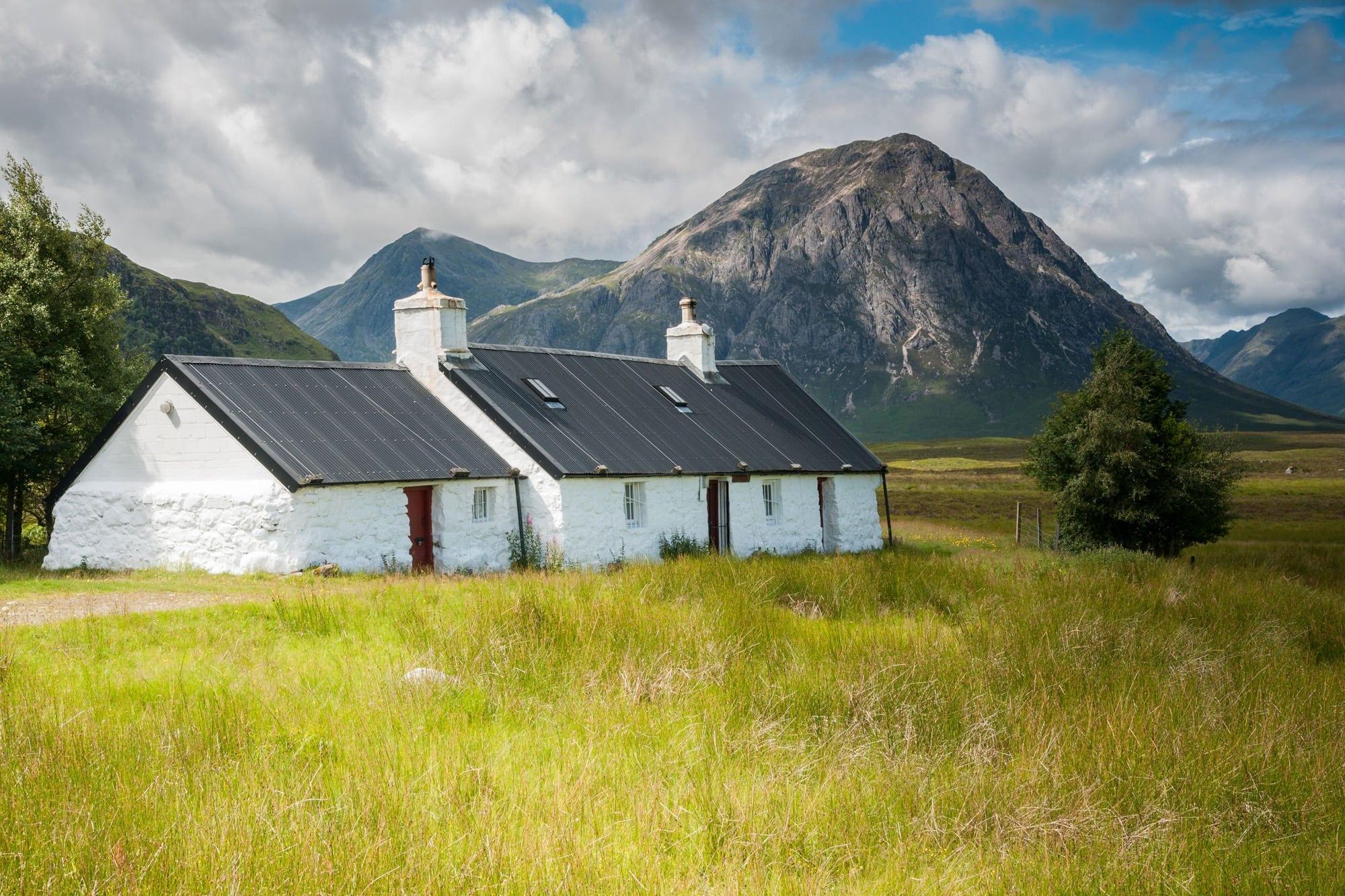 Black Rock Cottage - Scotland Photography