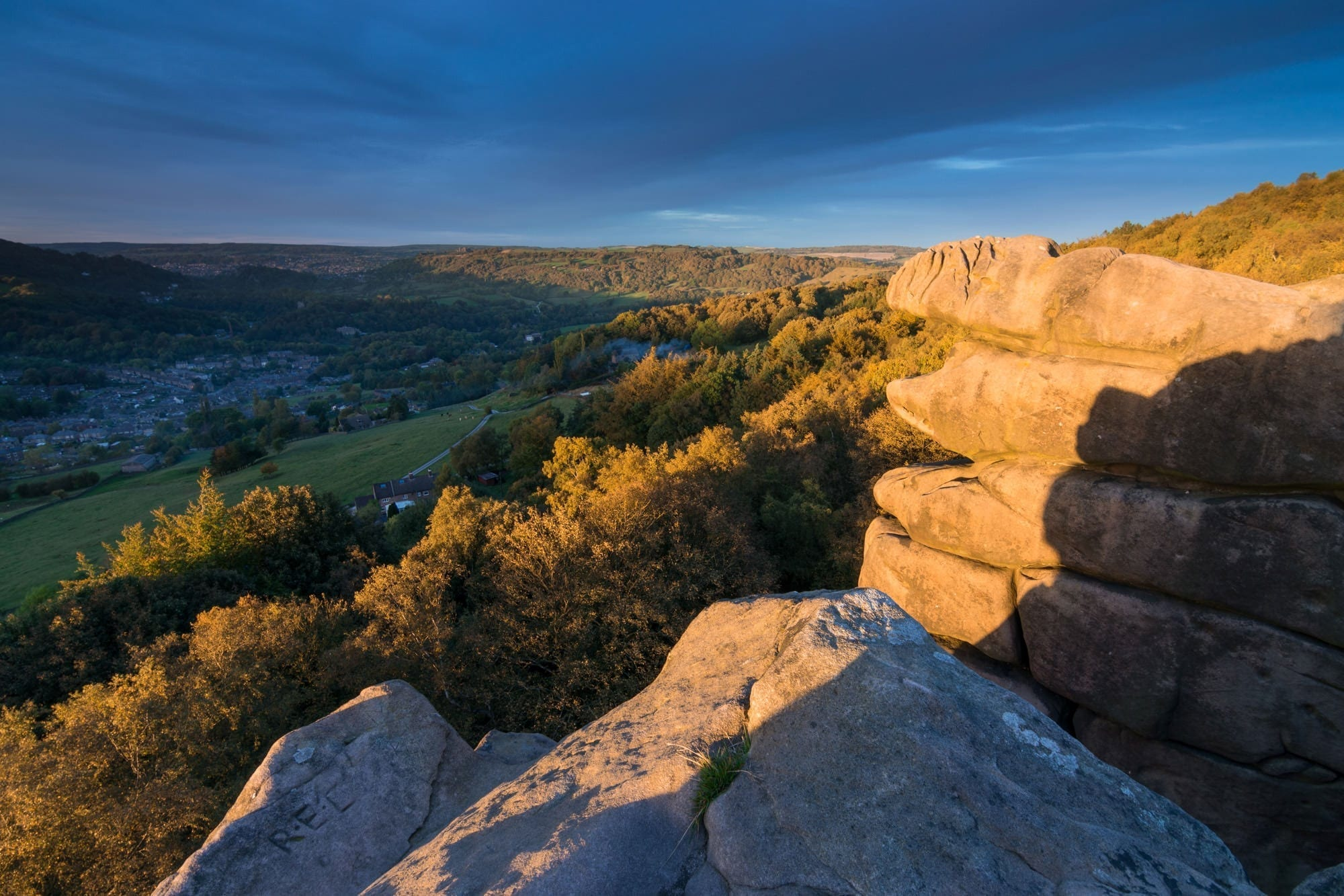 Black Rocks Sunset - Matlock Photography Workshop