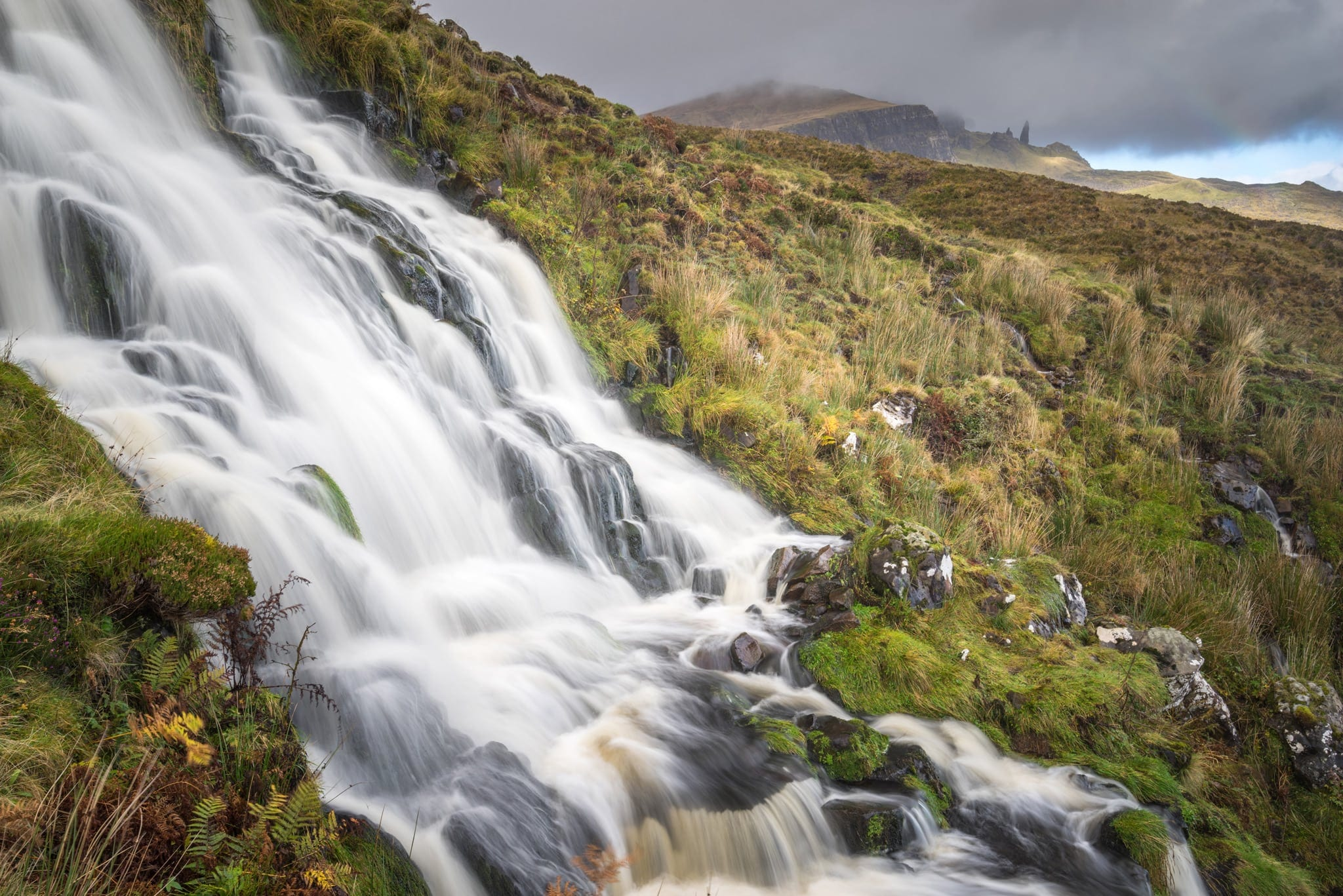 Brides Veil Waterfall - Isle of Skye Photography
