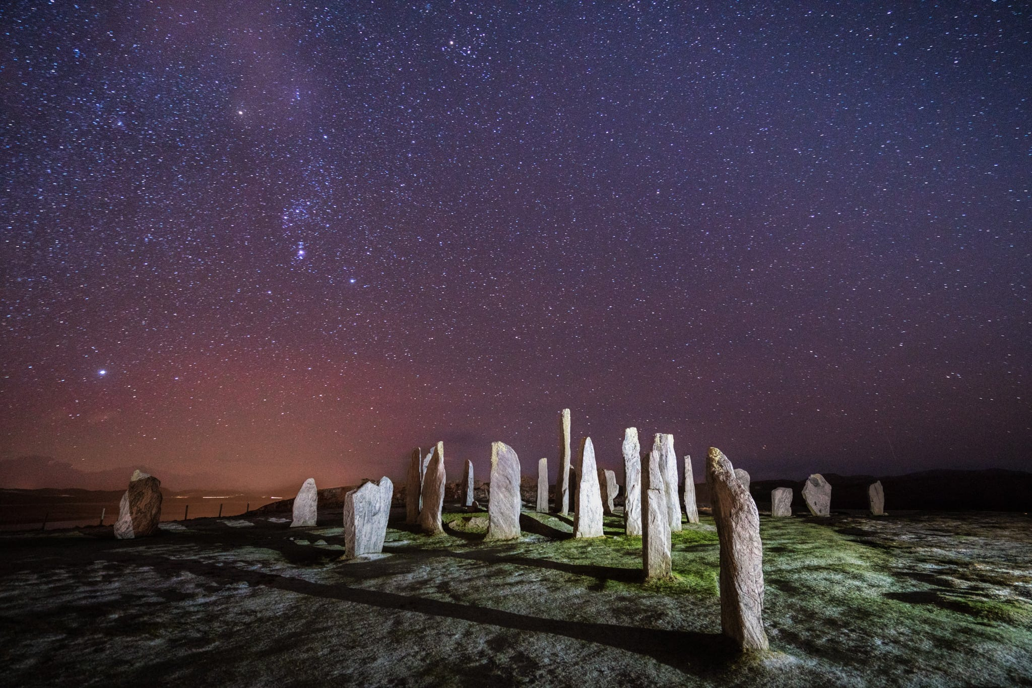 Callanish Standing Stones Night Sky - Scotland Landscape Photography