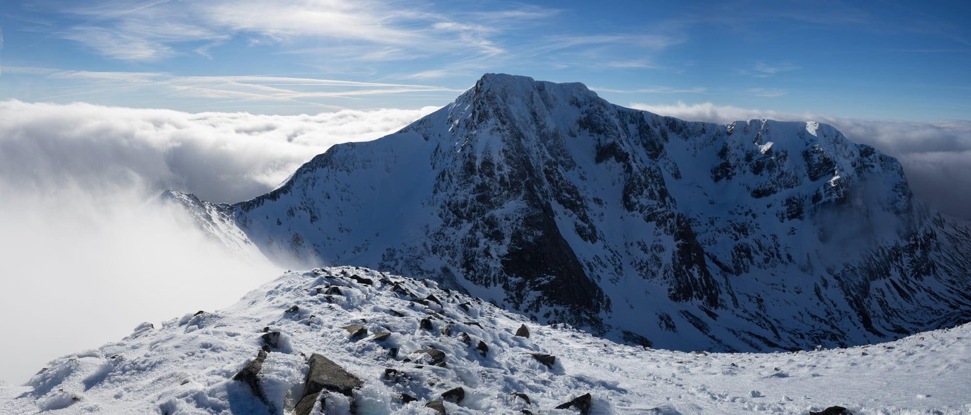 Carn Mor Dearg Inversion Towards Ben Nevis - Scotland Photography