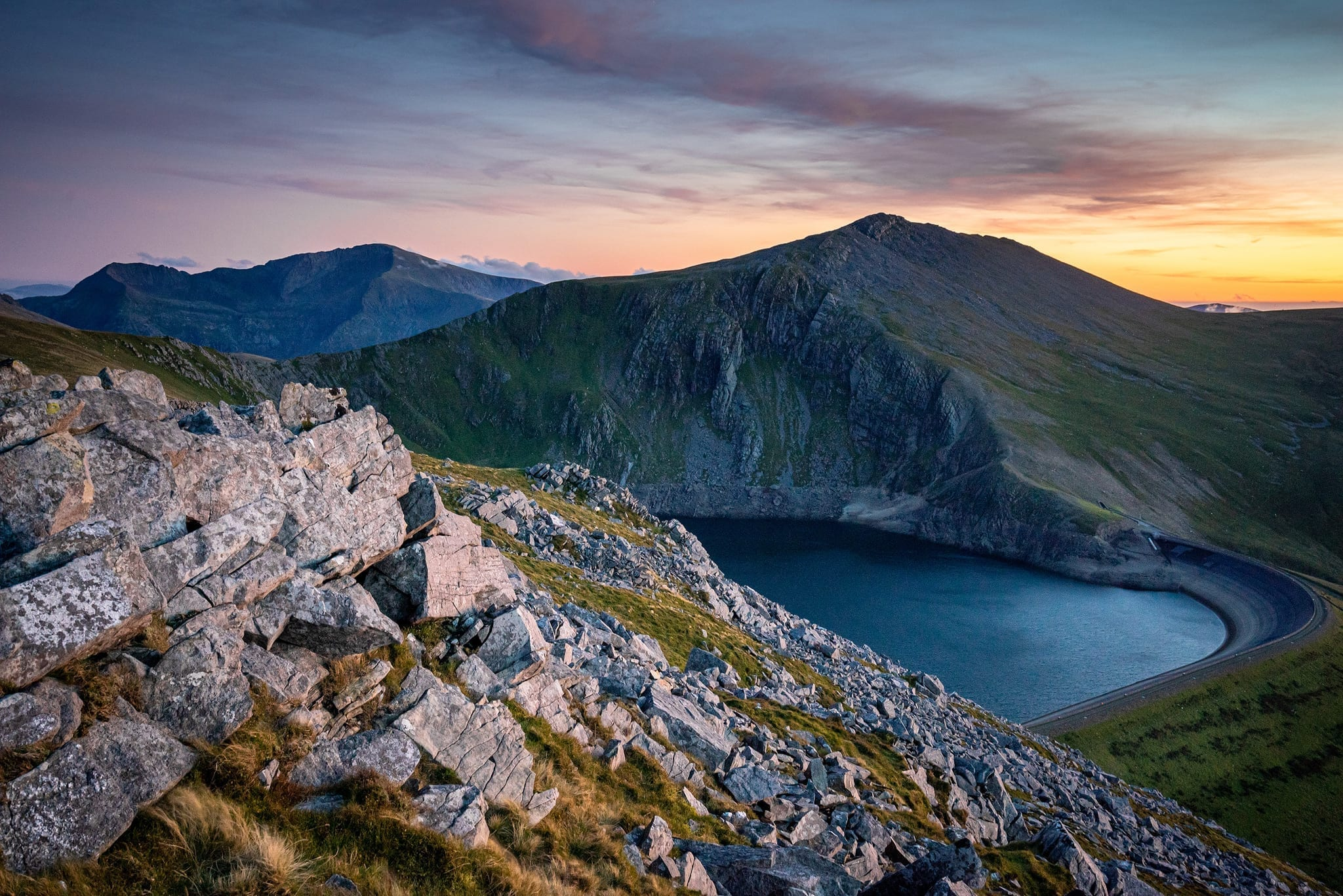 Carnedd Y Filiast September Sunset – Snowdonia Landscape Photogr