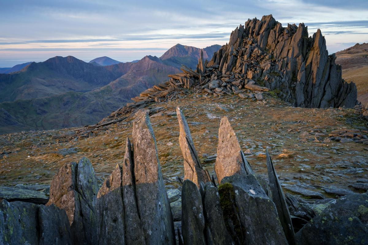 Castell Y Gwynt Sunrise - Castle of the Winds - Snowdonia Photography