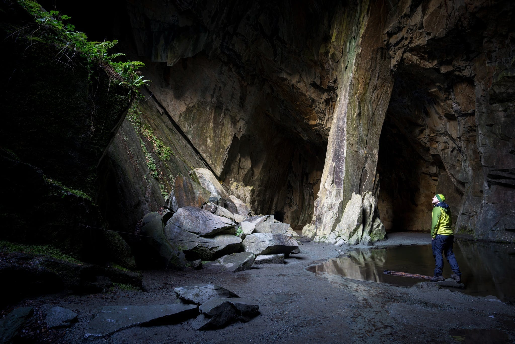 Cathedral Cavern -  Lake District Photography
