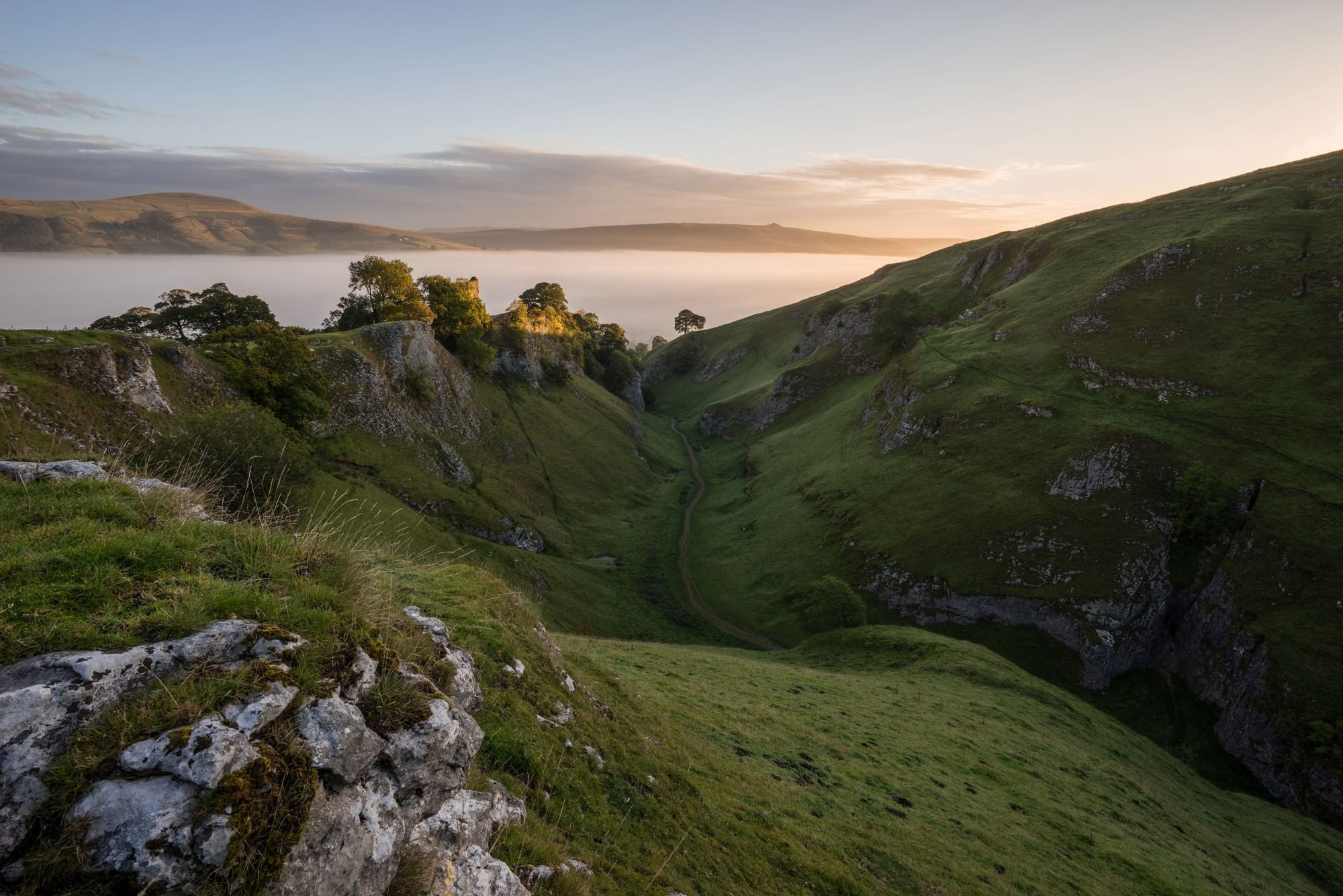 Cave Dale (Cavedale) Sunrise - Peak District Photography