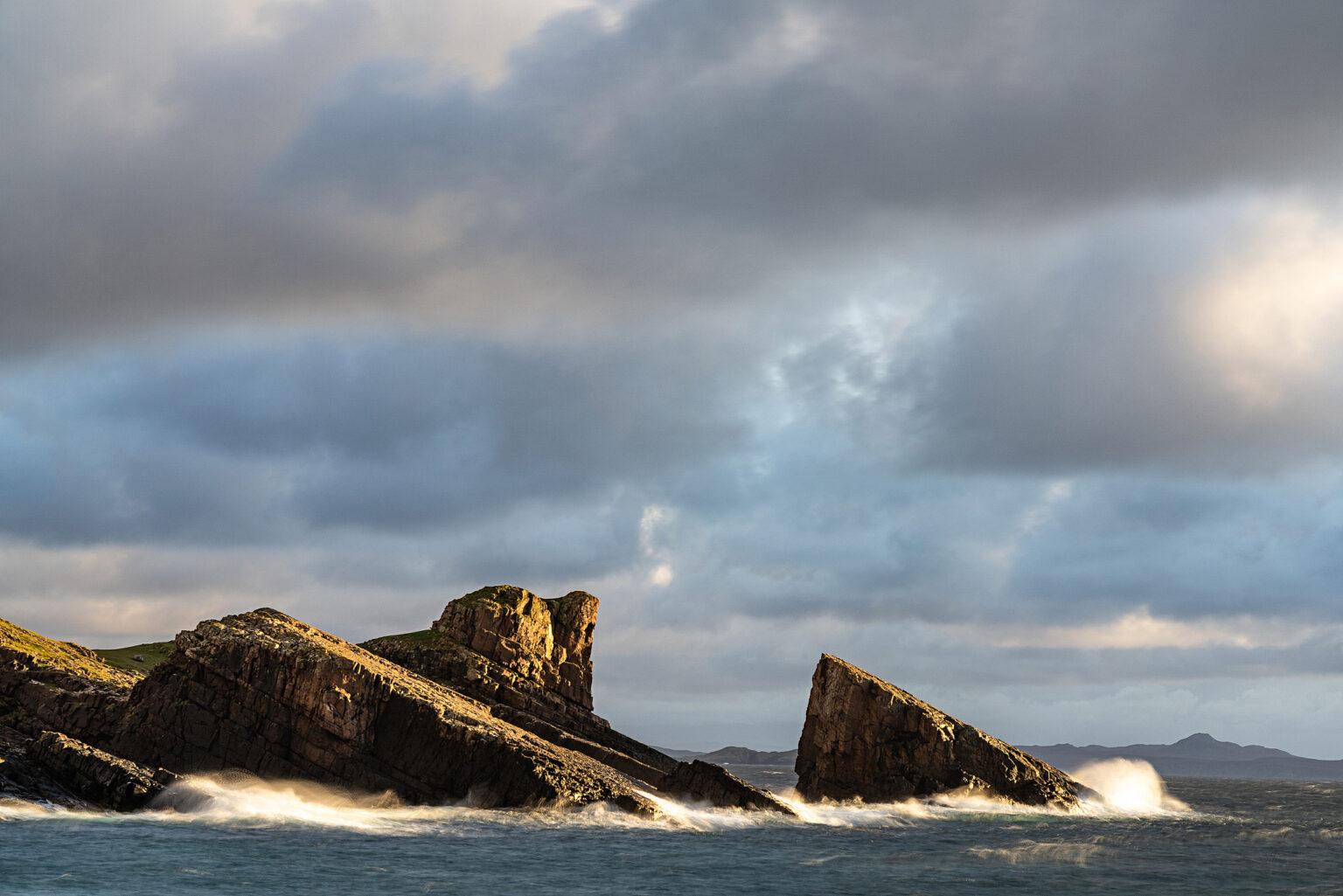 Clachtoll Split Rock – Scotland Landscape Photography