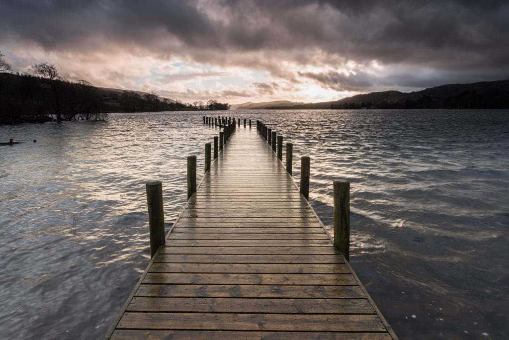 Coniston Jetty Storms - Lake District Photography Workshops
