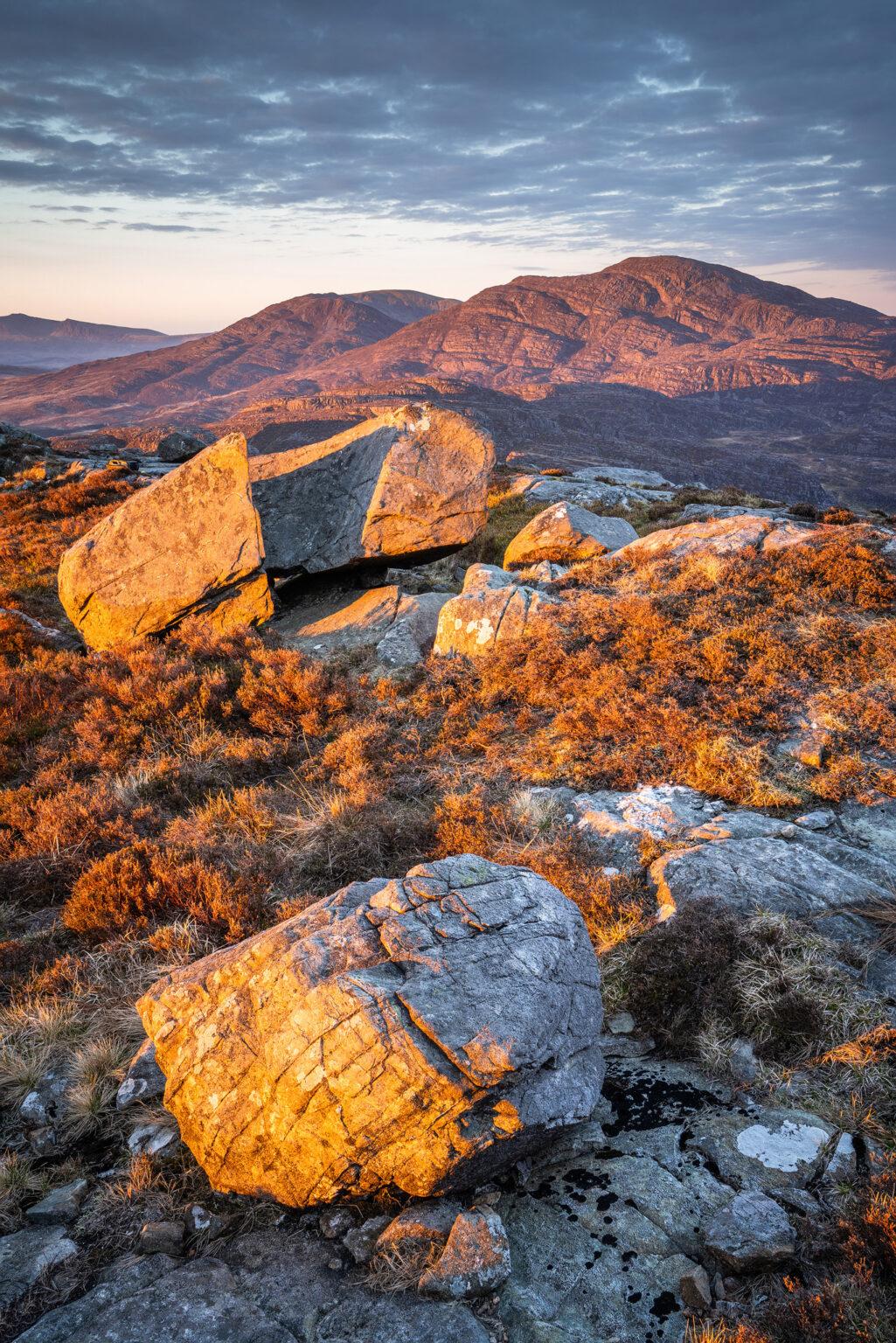 Craig Wion Sunrise – Rhinogydd – Snowdonia Landscape Photography