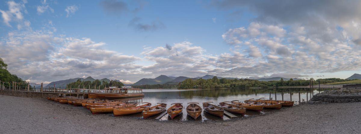 Derwent Water Boat Landings - Lake District Photography