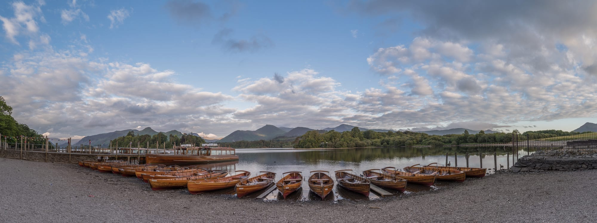 Derwent Water Boat Landings - Lake District Photography