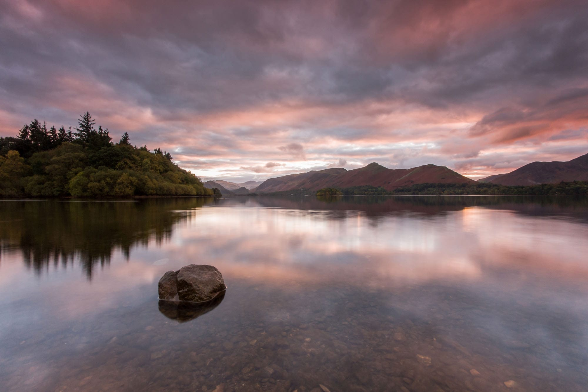 Derwent Water Sunset - Lake District Photography Workshops