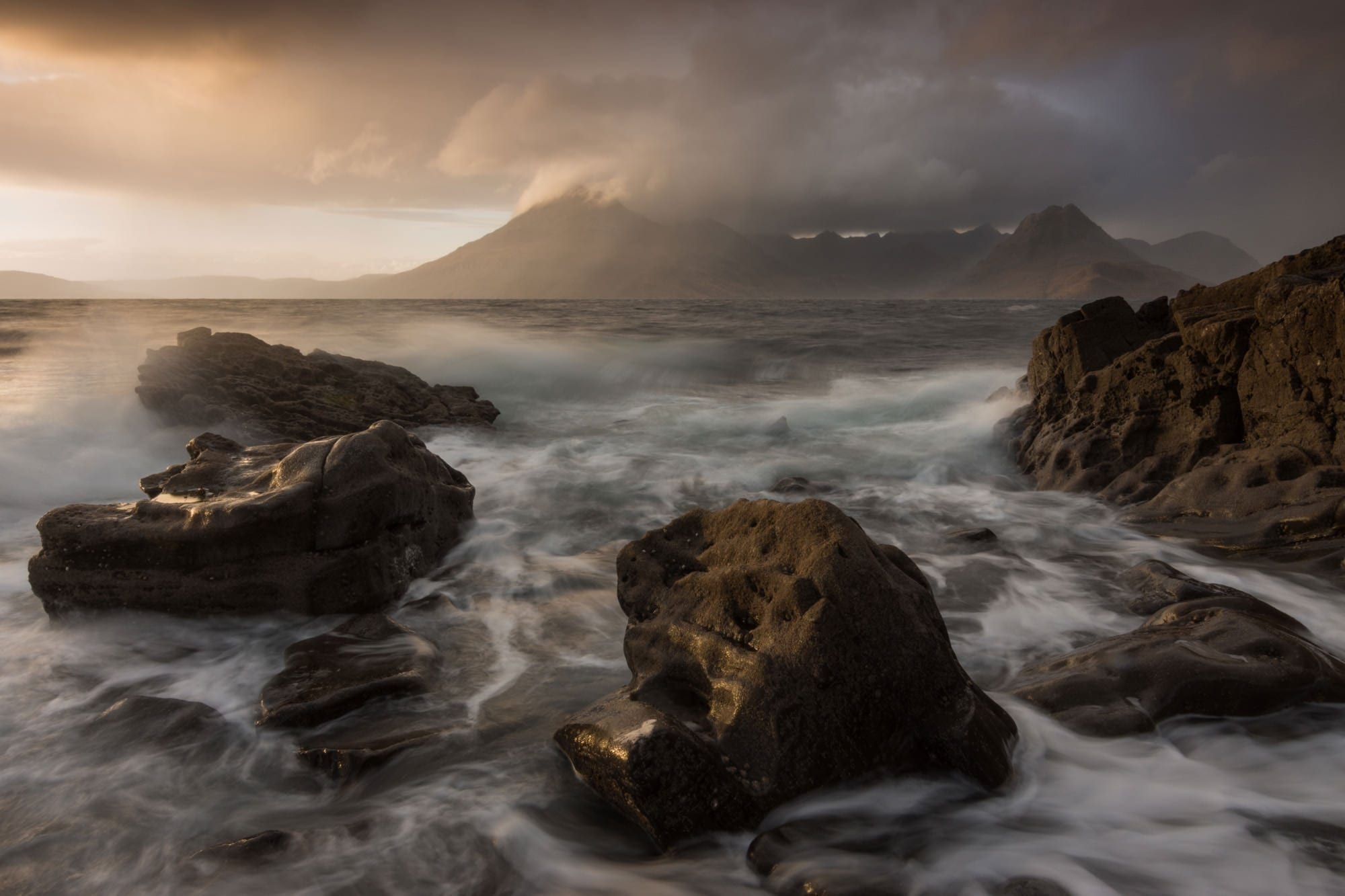 Elgol Sun Sea and Storms - Isle of Skye Photography Workshop