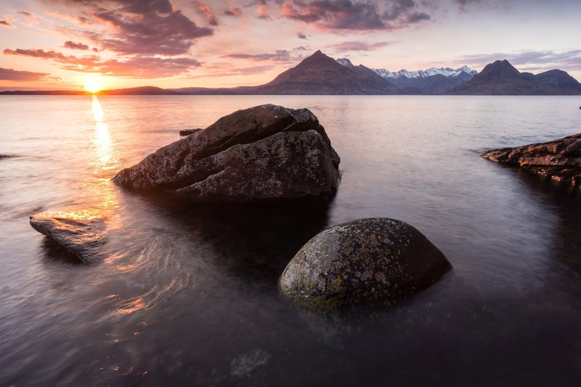 Elgol Sunset- Isle of Skye Photography Workshop
