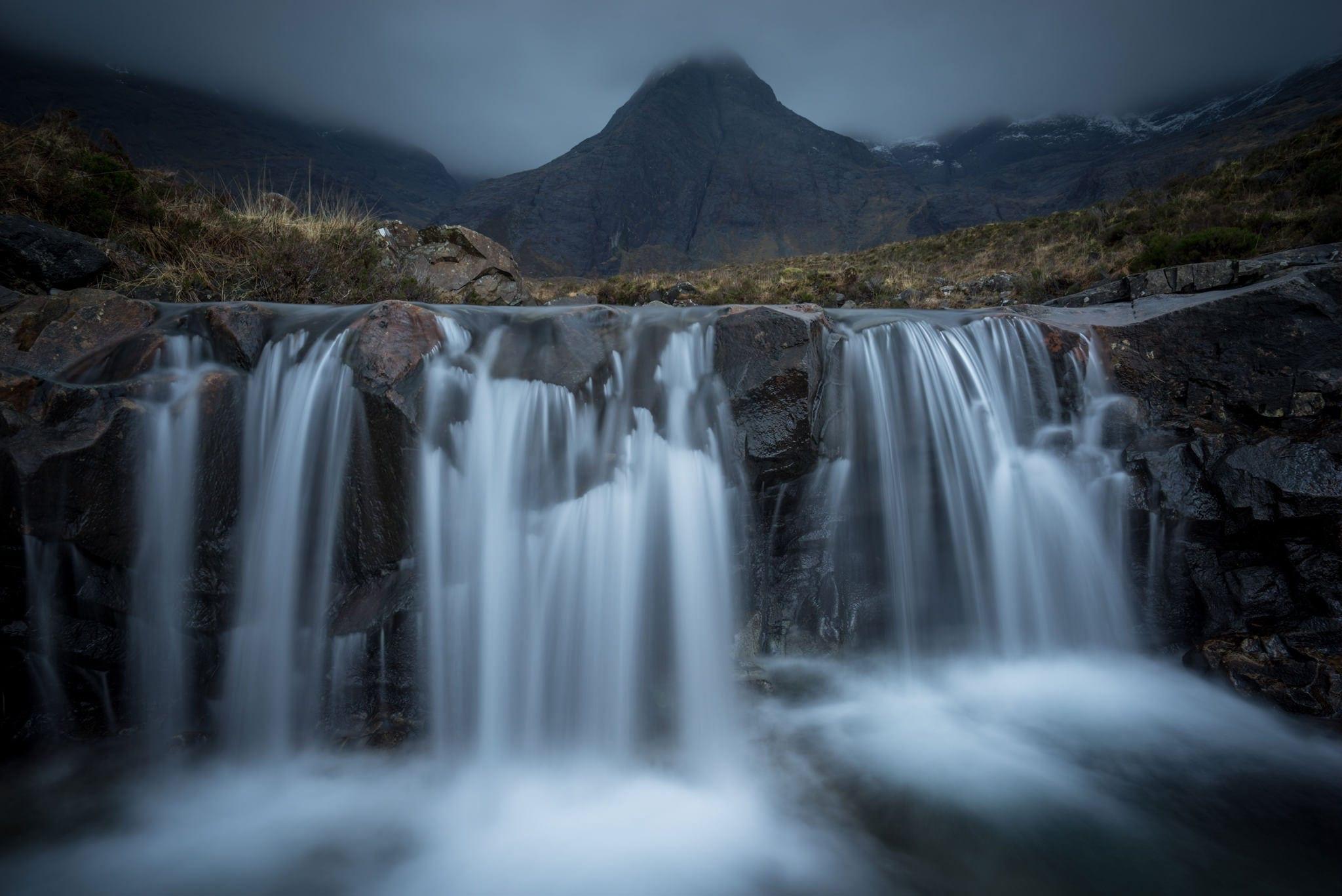 Fairy Pools Waterfall - Isle of Skye - Scotland Photography