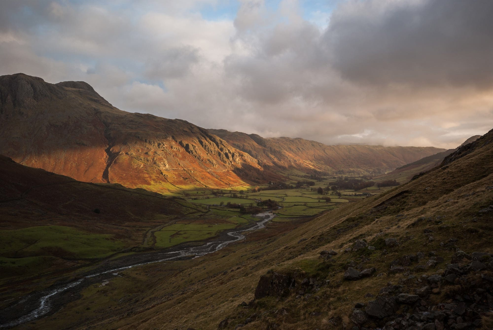 Langdale Sunrise  - Lake District Photography