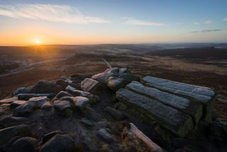 Higger Tor Sunrise - Peak District Photography