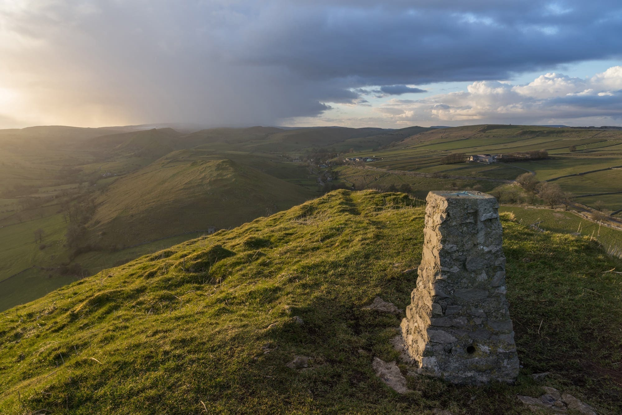 High Wheeldon Sunset - Peak District Through The Lens Photography Workshop