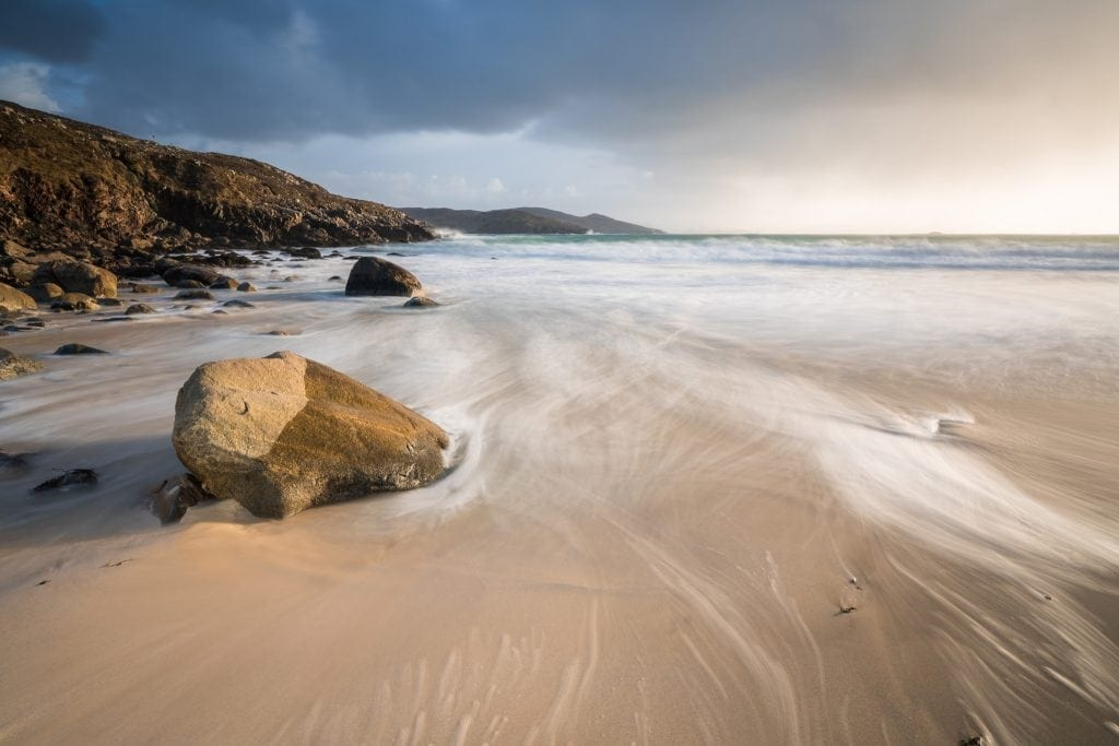 Hushinish Sunset - Isle of Harris Photography