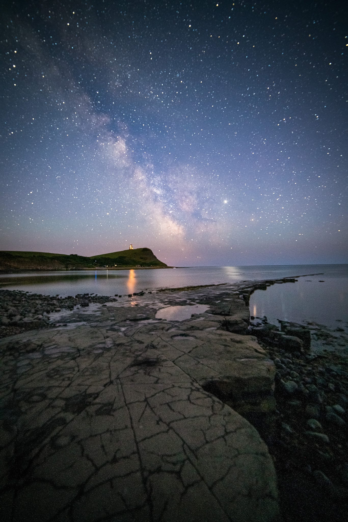 Kimmeridge Bay Milky Way – Dorset Astrophotography