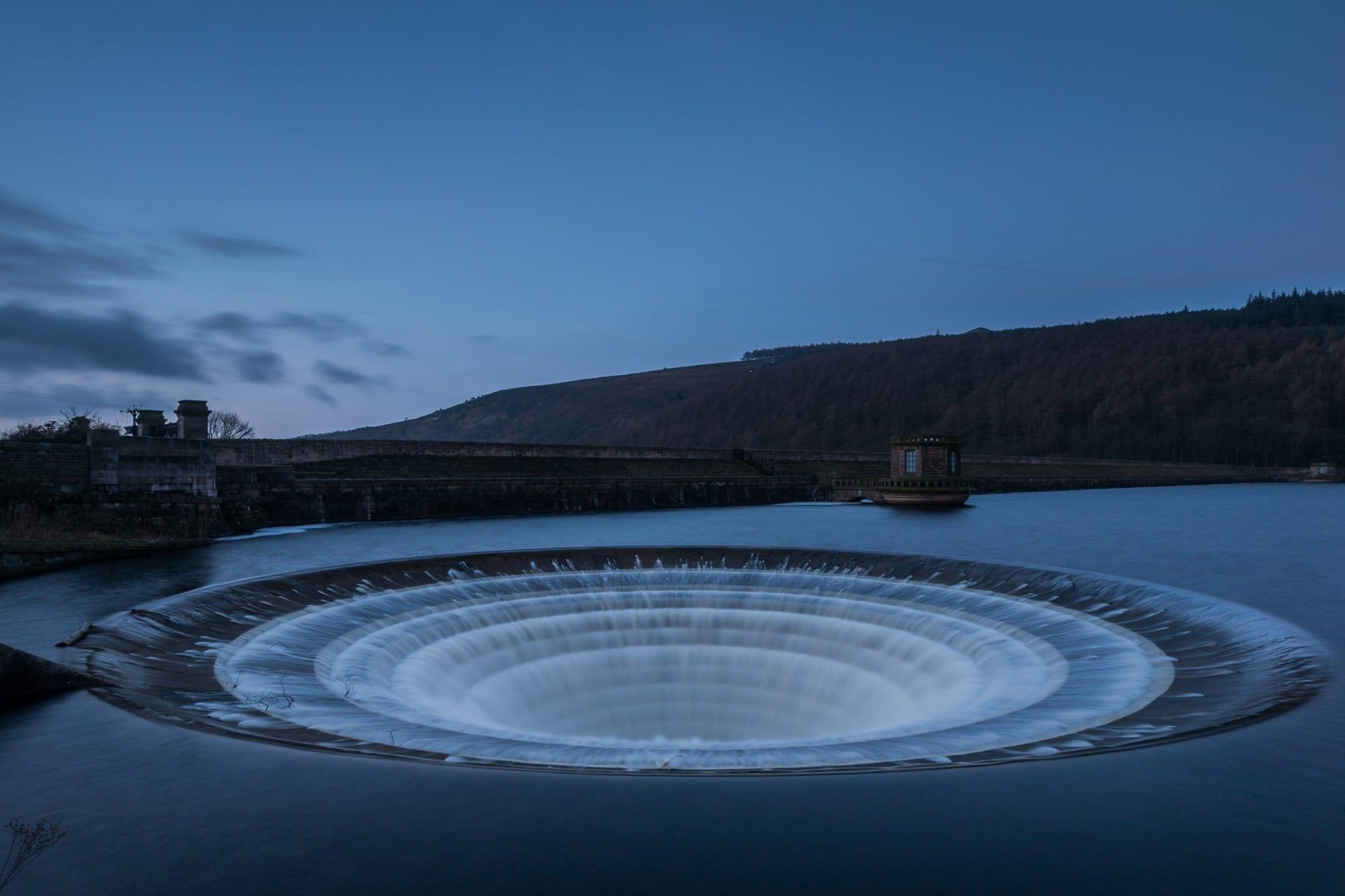Ladybower Plughole - Peak District Photography
