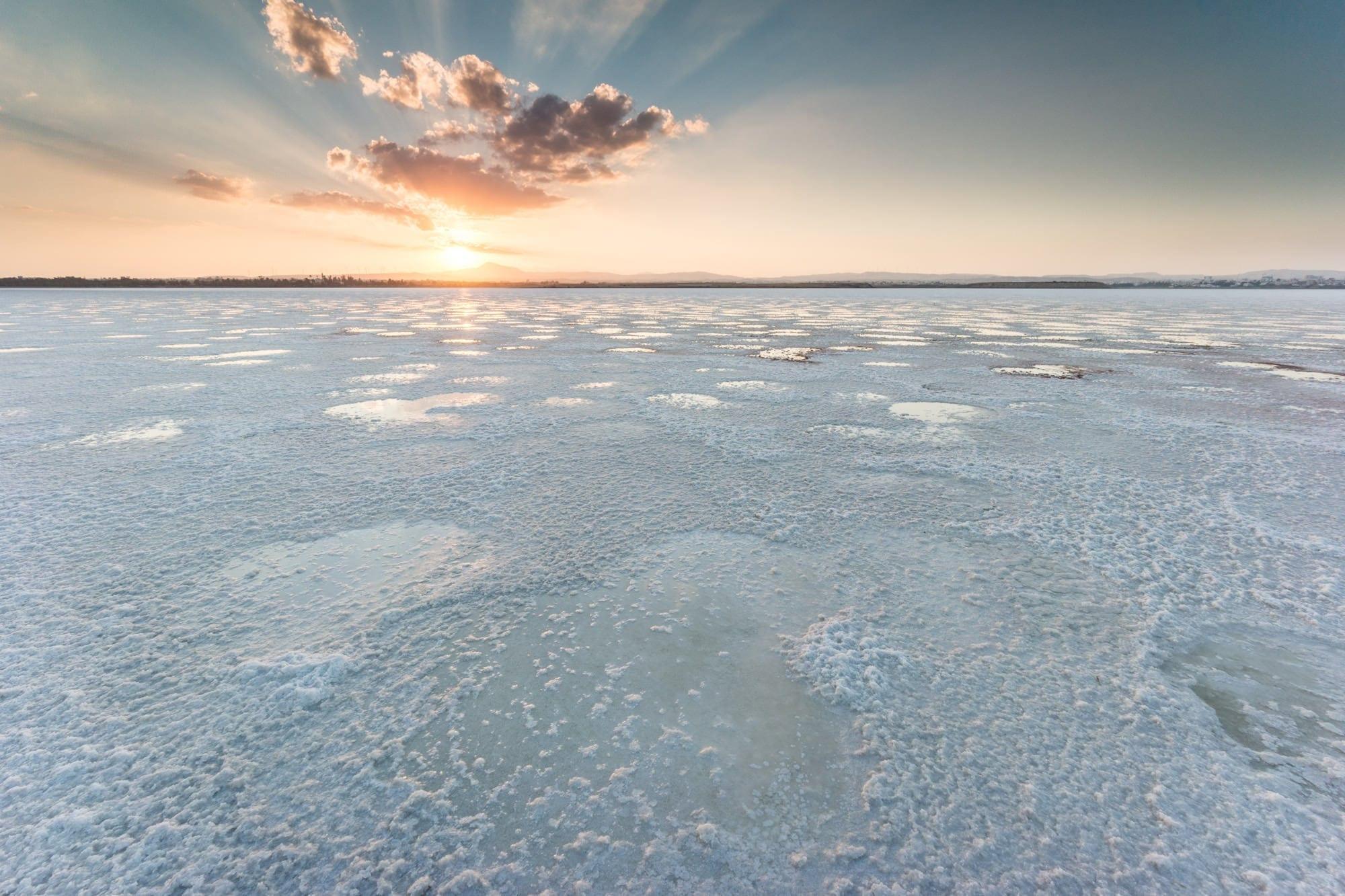 Larnaca Salt Lake - Cyprus Photography