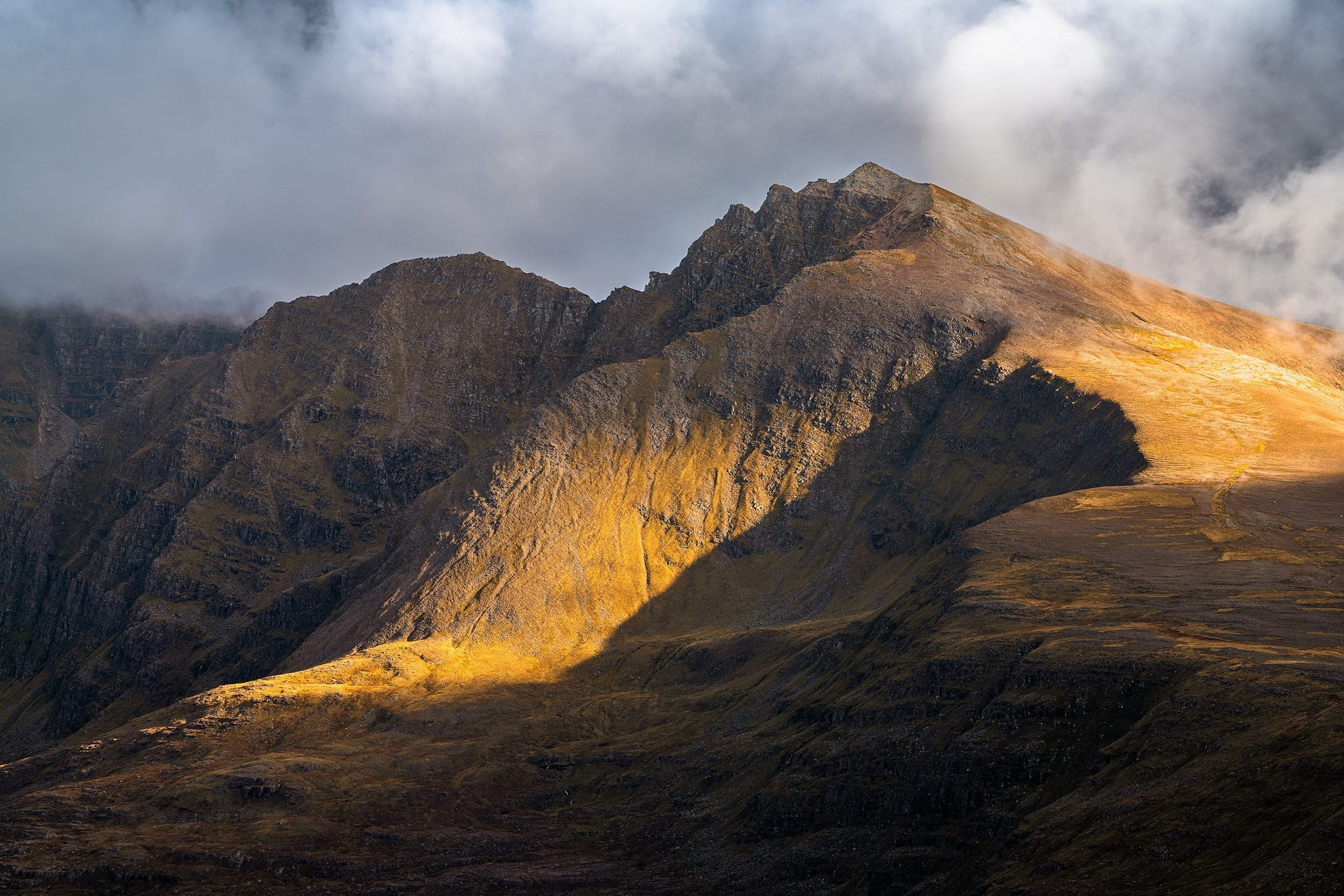 Liathach from Beinn Alligin – Scotland Landscape Photography