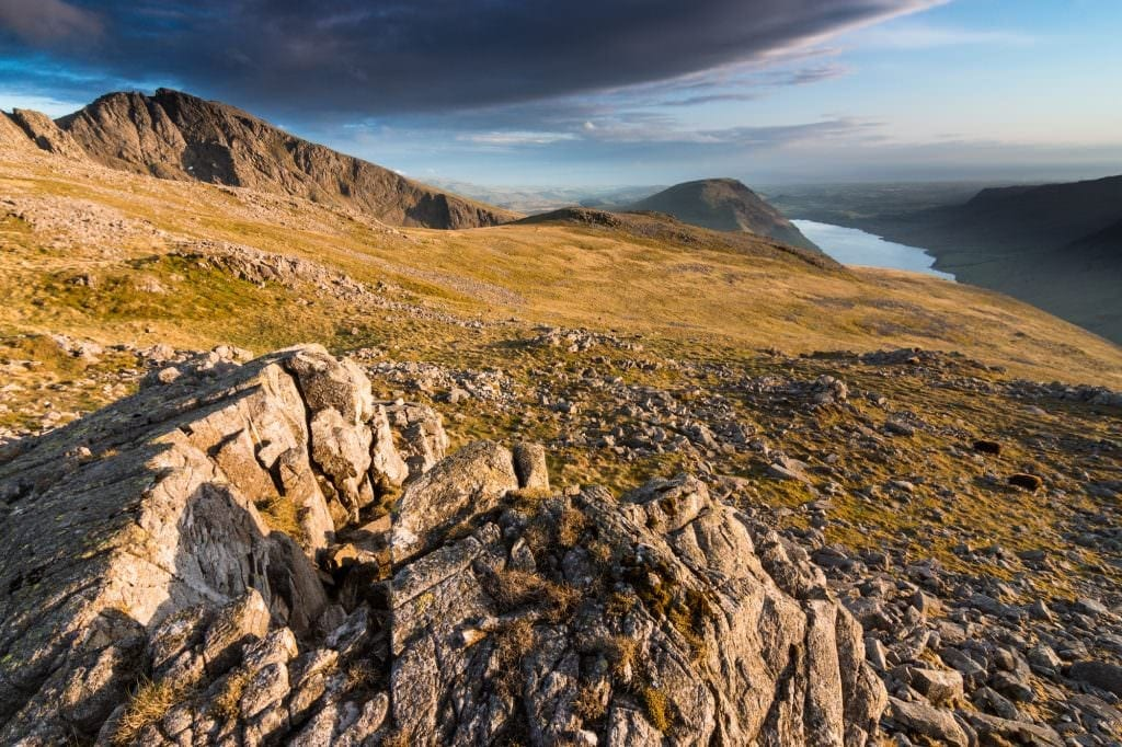 Lingmell to Sca Fell Sunset - Lake District Photography Workshops