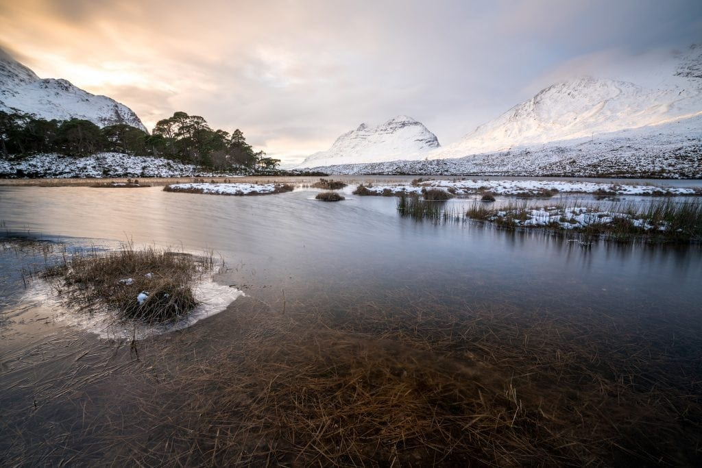 Loch Clair Sunset - Scotland Landscape Photography