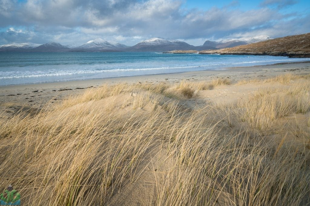 Luskentyre Beach Sunset - Isle of Harris Photography