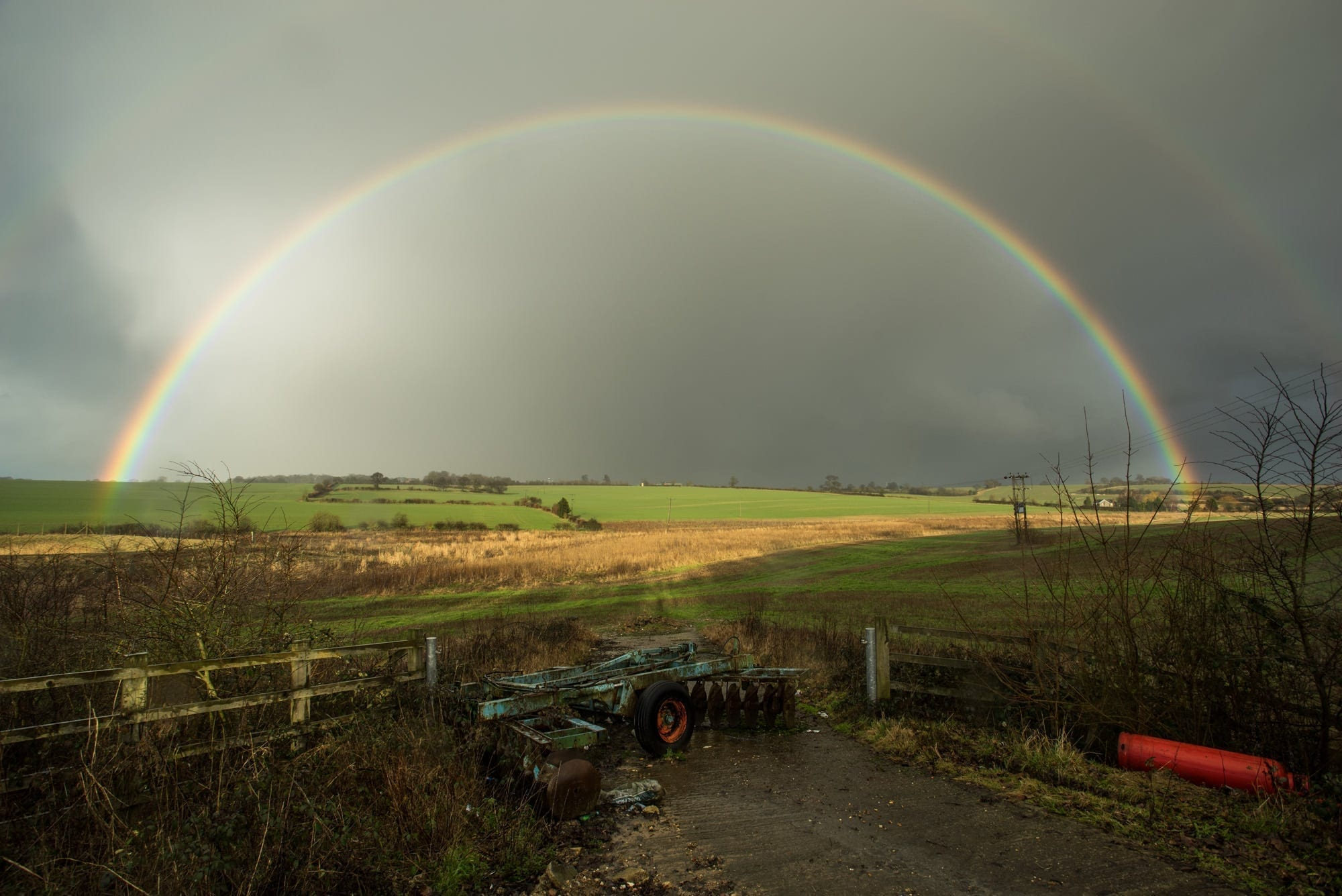 Luton Rainbow - Bedfordshire Photography
