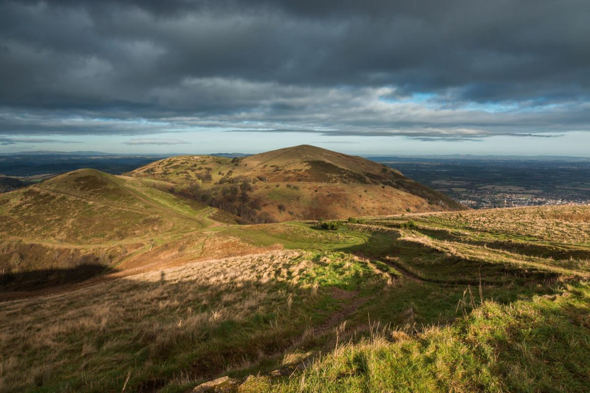 Malverns from Worcestershire Beacon - Worcestershire Photography