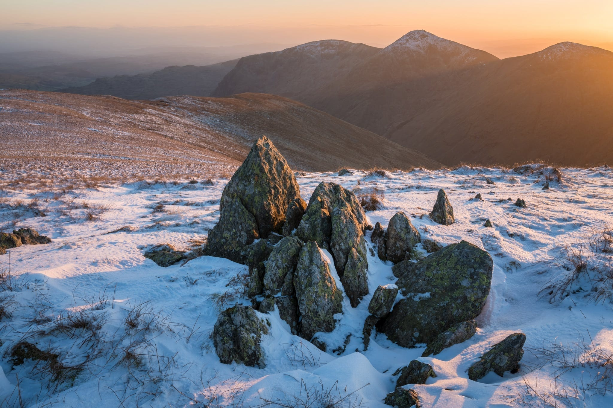 Mardale Ill Bell Sunset - Lake District Photography