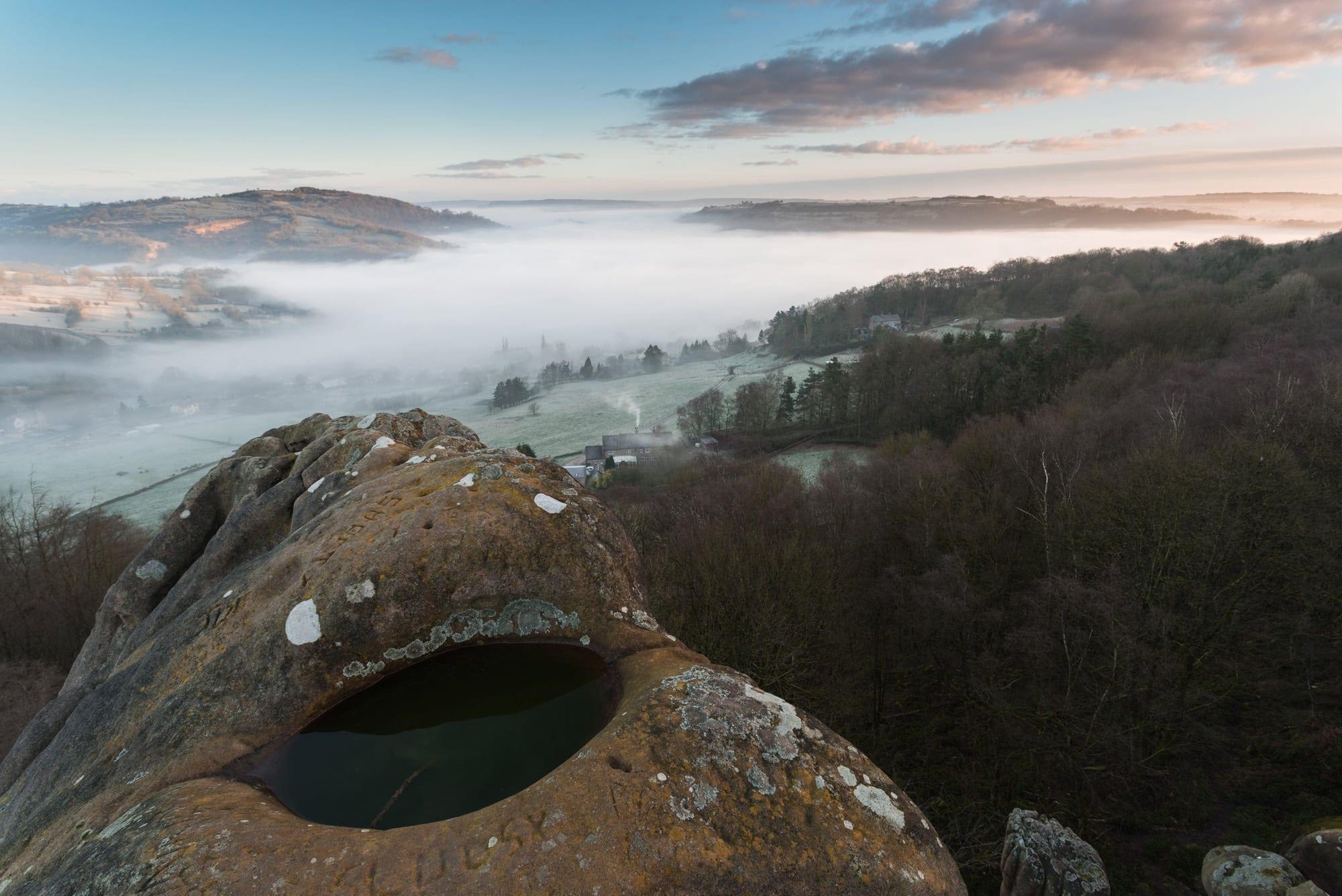 Black Rocks Meshuga Sunrise  - Derbyshire Photography