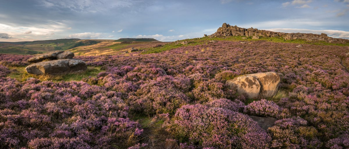 Millstone Edge to Over Owler Tor - Peak District Photography