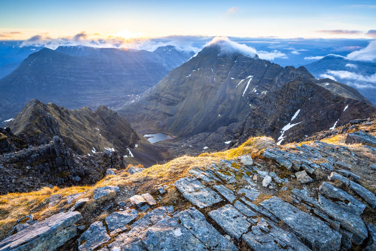 Mullach an Raithan Sunrise – Liathach – Scotland Photography