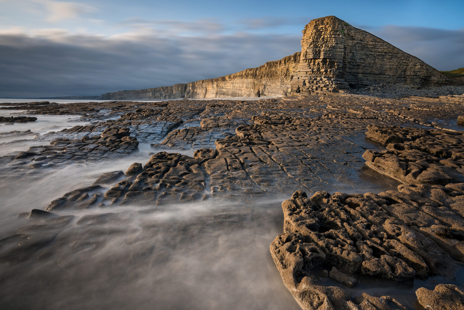 Nash Point Sunset - Wales Photography