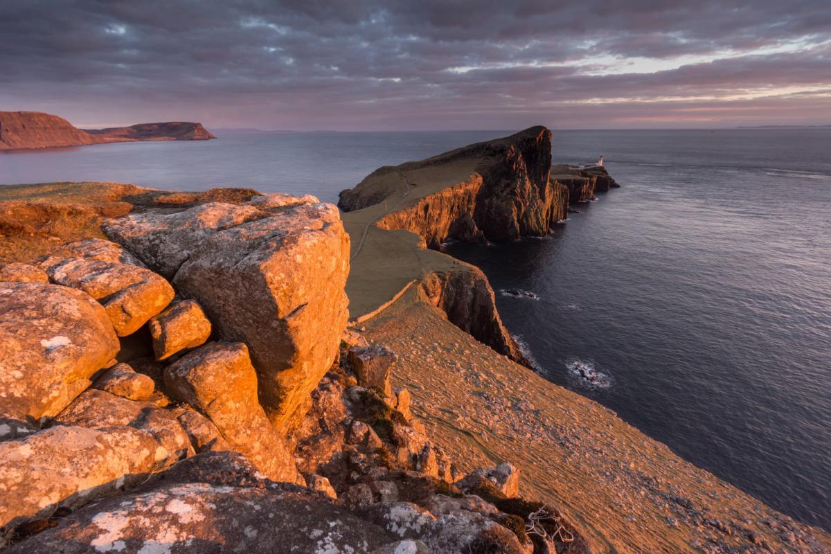 Neist Point Sunset - Scotland Photography