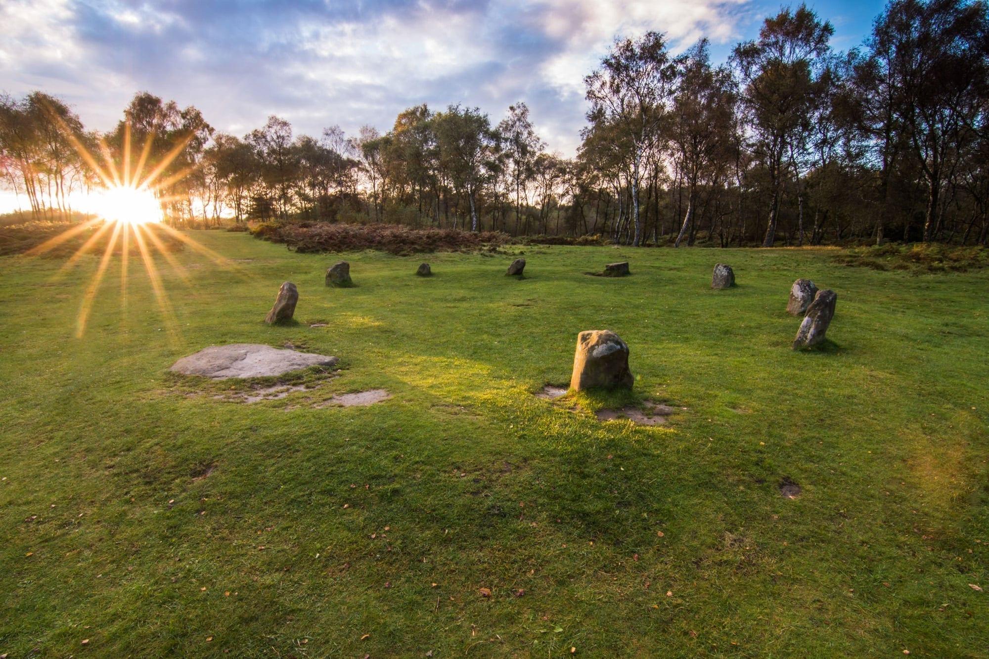 Nine Ladies Stone Circle - Summer Solstice Peak District Photography Workshop