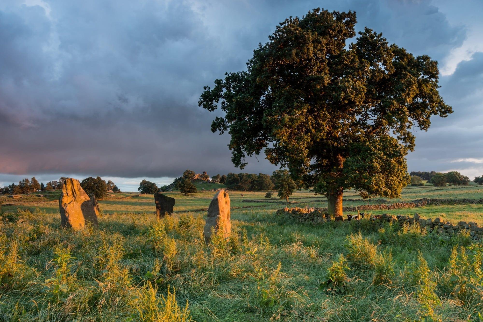 Nine Stones Close - Summer Solstice Peak District Photography Workshop
