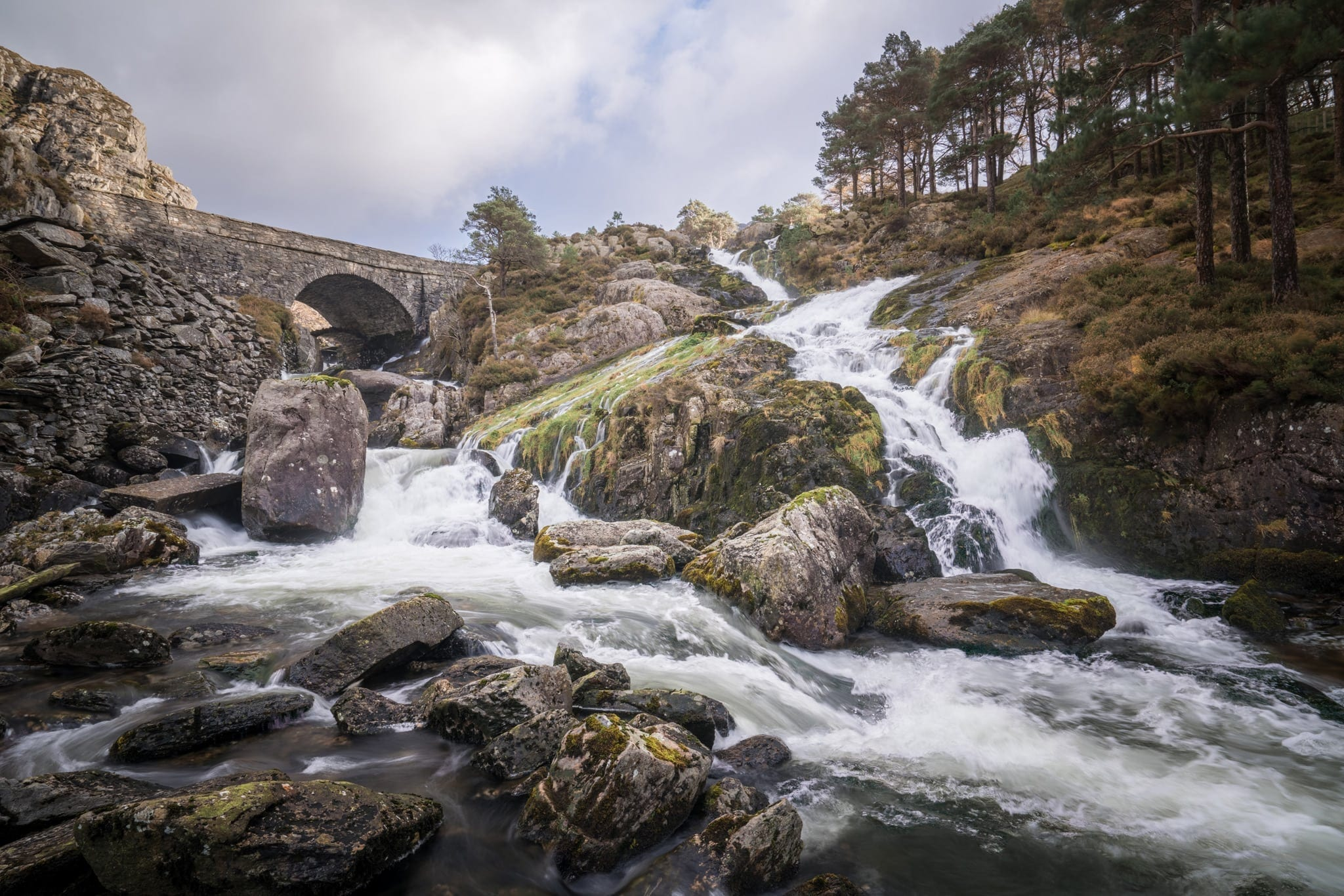 Ogwen Outflow - Snowdonia Photography