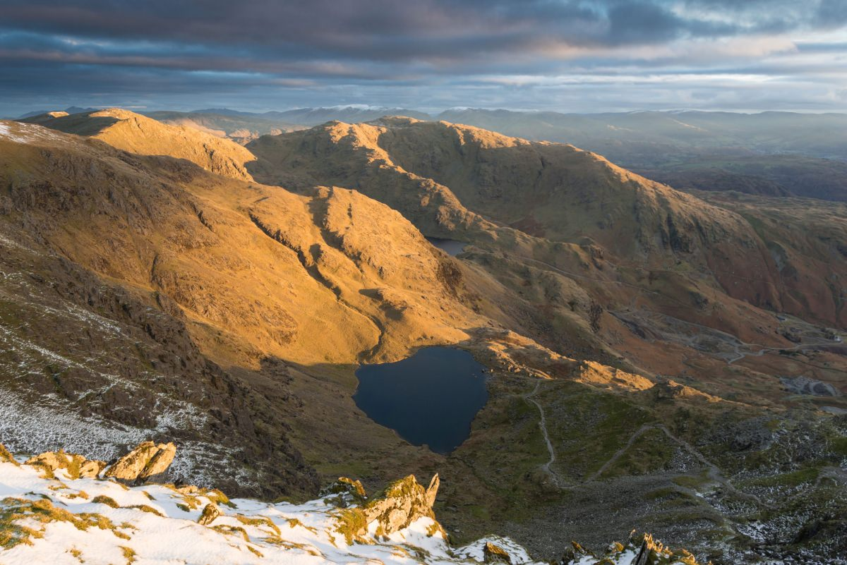 Old Man Of Coniston Sunrise - Lake District Photography