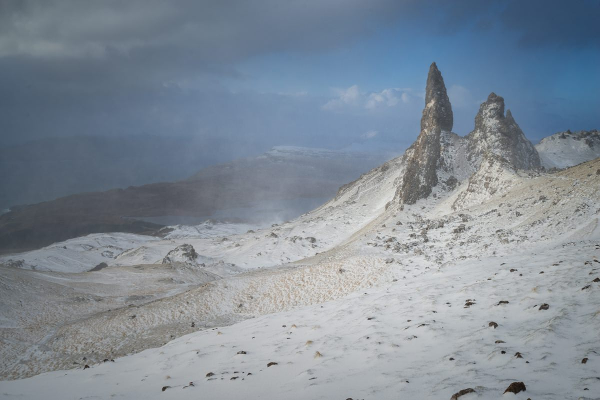 Old Man of Storr Winter Sunrise - Scotland Photography