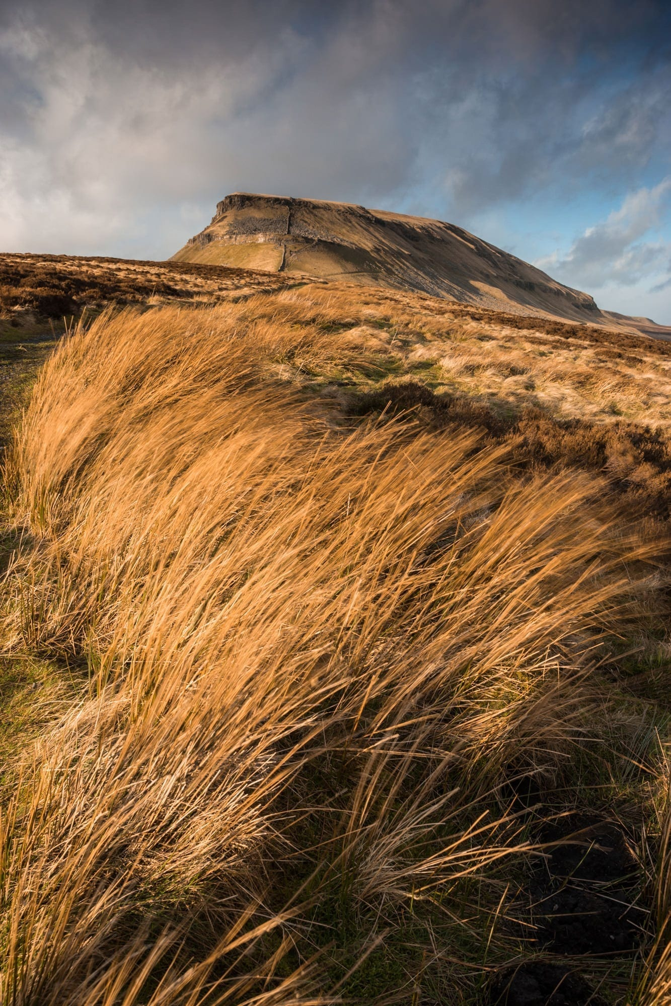 Pen-Y-Ghent Sunset - Yorkshire Dales Photography