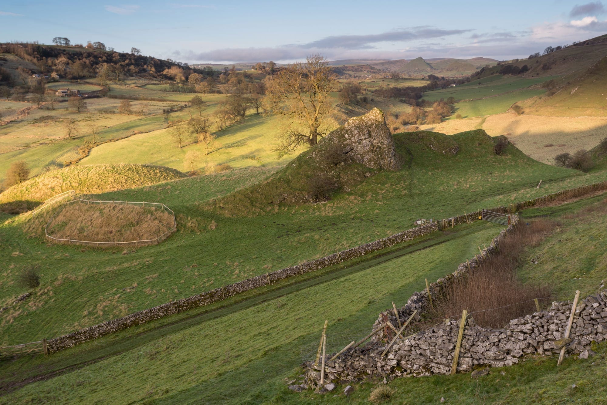 Pilsbury Castle Sunrise - Peak District Through The Lens Photography Workshop